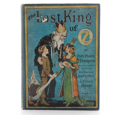 "First Edition of ""The Lost King of Oz,"" 1925"