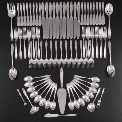 "International Silver ""Prelude"" Sterling Silver Flatware and Serving Utensils"