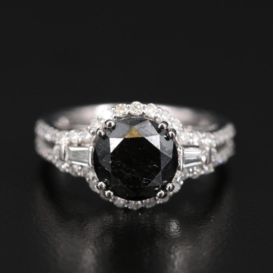 14K 3.37 CTW Diamond Ring