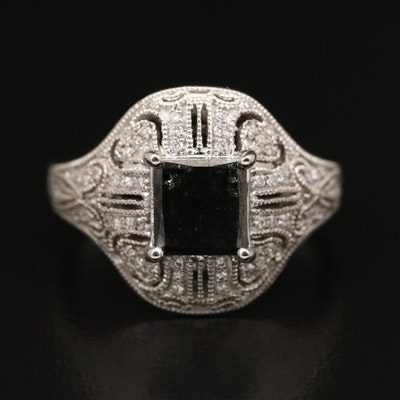 Platinum 1.87 CTW Diamond Ring