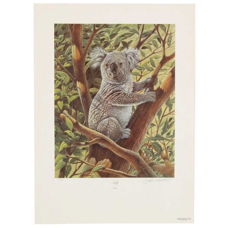 "John Ruthven Offset Lithograph ""Tully-Koala,"" Late 20th Century"