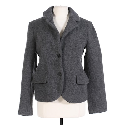 Marc by Marc Jacobs Button Front Wool Jacket