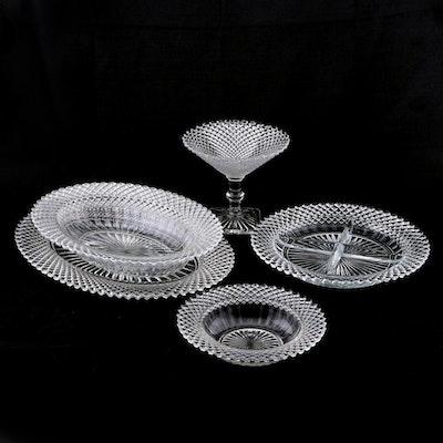 "Anchor Hocking ""Miss America"" Clear Depression Glass Serveware, 1935–1938"