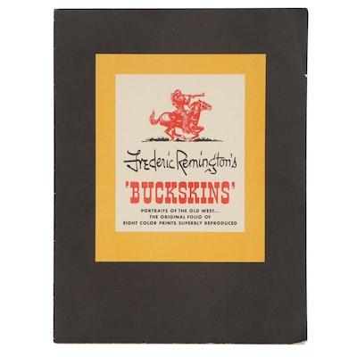 "Giclées after Frederic Remington ""Buckskins,"" 1956"