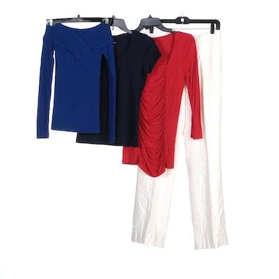 Ralph Lauren Pants, INC International Concepts Sweater and Talbots Shirts