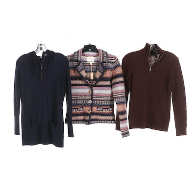 Ralph Lauren, Autum Cashmere and Telluride Cashmere and Wool Sweaters
