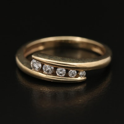10K Diamond Journey Ring