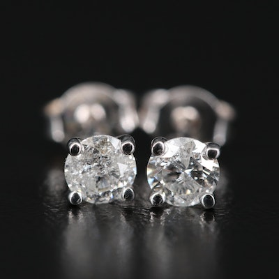 14K 0.64 CTW Diamond Martini Stud Earrings