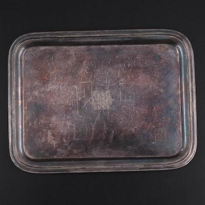 International Silver Co. for Rike-Kumler Co. Silver Plate Tray