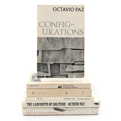 "Signed ""Configurations"" and More by Octavio Paz"