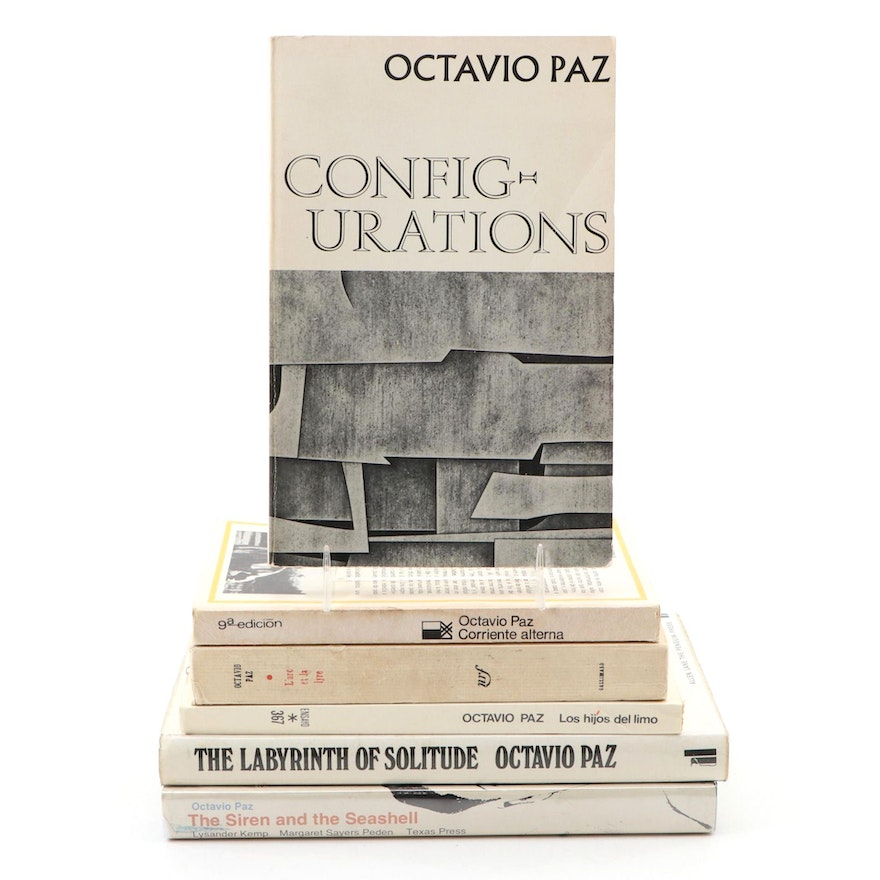 """Signed """"Configurations"""" and More by Octavio Paz"""