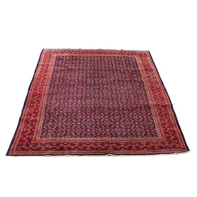 10' x 13'3 Hand-Knotted Persian Mahal Room Size Rug, 1970s