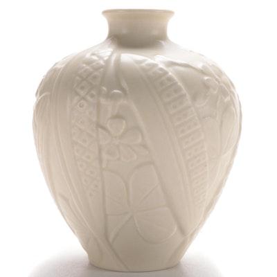Rookwood Pottery Art Deco Floral Motif Bud Vase, 1934
