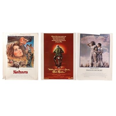 "Drama and Adventure Halftone 30"" x 40"" Theatrical Release Movie Posters"