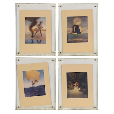 """Offset Lithographs after Maxfield Parrish's """"The Arabian Nights"""""""