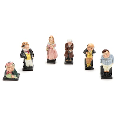 """Royal Doulton Porcelain Figurines, """"Fat Boy"""", """"Little Nell"""", """"Pickwick"""" and More"""