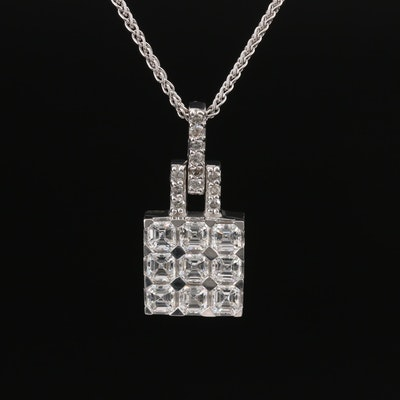 14K 1.49 CTW Diamond Necklace