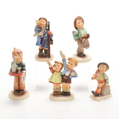 "Goebel ""Goodbye"", ""Waiter"" and Other Porcelain Hummel Figurines"