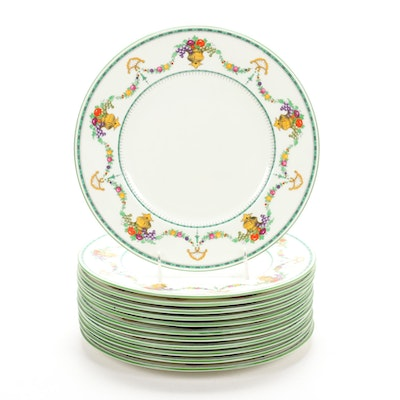 "Cauldon ""Malvern"" China Dinner Plates, Early 20th Century"