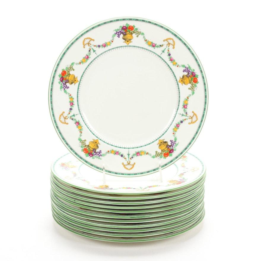 "Cauldon ""Malvern"" China Dinner Plates, Early 20th Century"