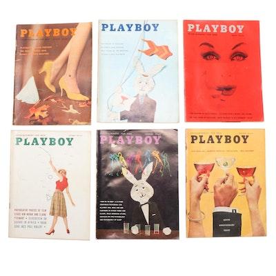 """""""Playboy"""" Magazine Vol. 6 #7–12, 1959"""