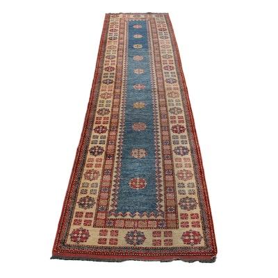 2'11 x 12'1 Hand-Knotted Caucasian Talish Carpet Runner, 2000s