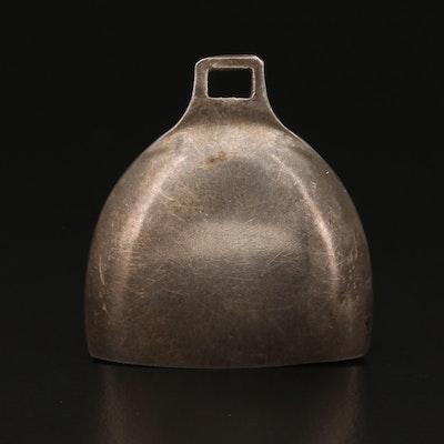 Sterling Bell Pendant