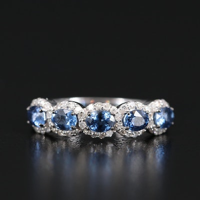EFFY 14K Sapphire and Diamond Ring