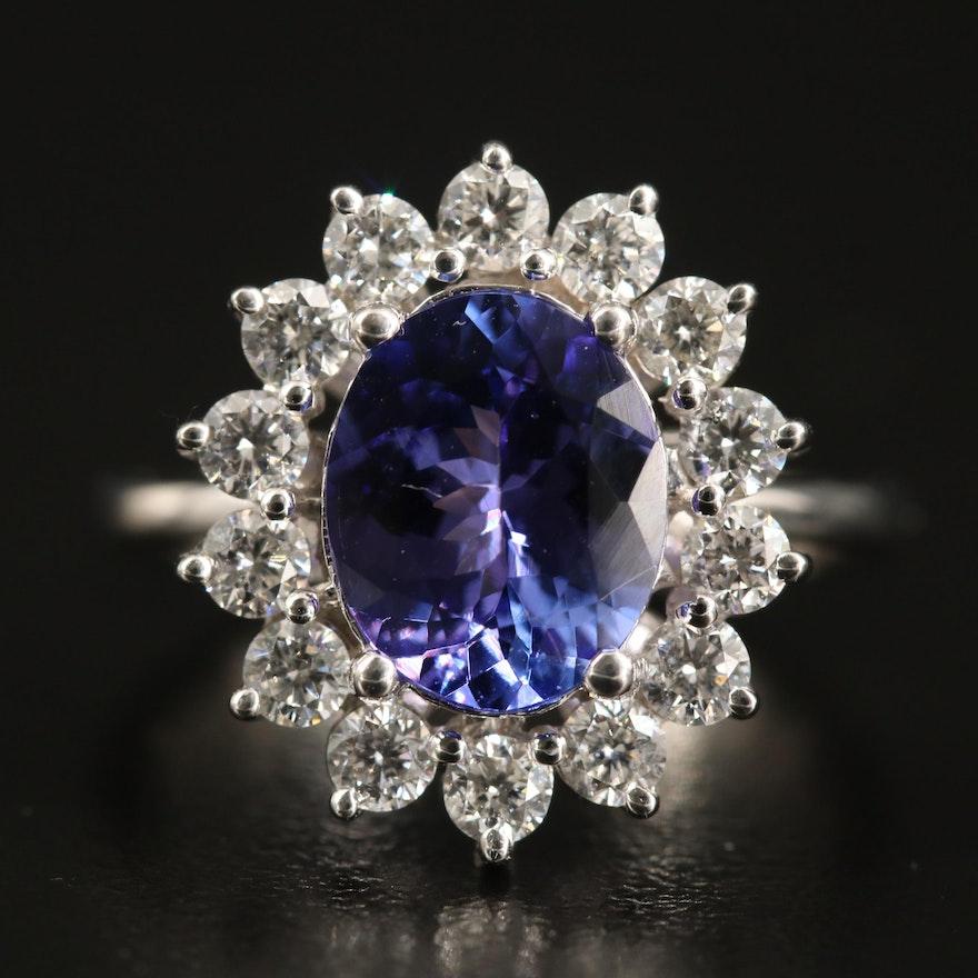 EFFY 14K Tanzanite and Diamond Ring