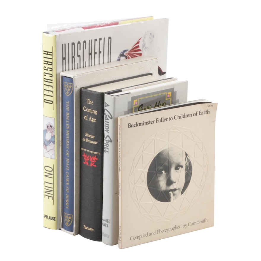 """First American Edition """"The Coming of Age"""" by Simone de Beauvoir and More"""