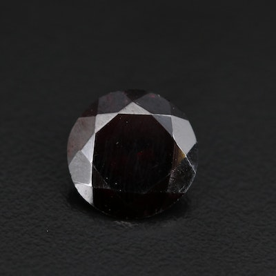 Loose 6.37 CT Round Faceted Garnet