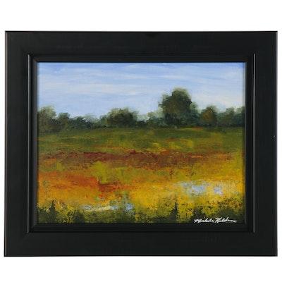 Michele Helders Landscape Oil Painting, 21st Century