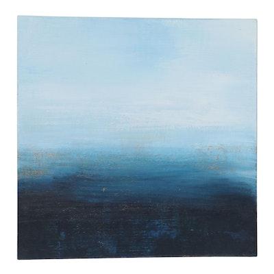 """Michele Helders Acrylic Painting """"Calm II,"""" 2020"""
