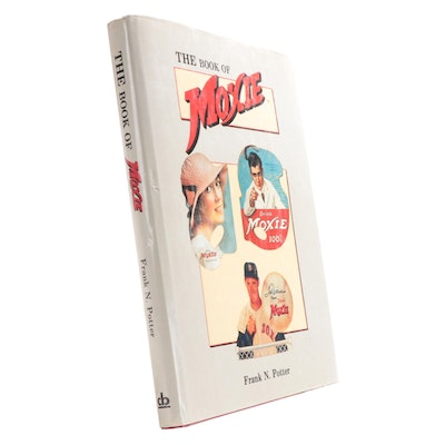"Signed ""The Book of Moxie"" by Frank Potter, 1987"