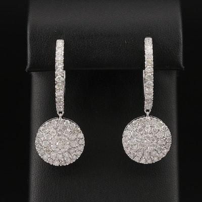 14K 4.00 CTW Diamond Earrings