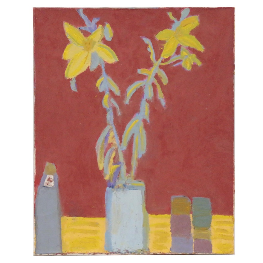 Jerald Mironov Still Life Oil Painting