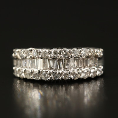 14K 1.04 CTW Diamond Band
