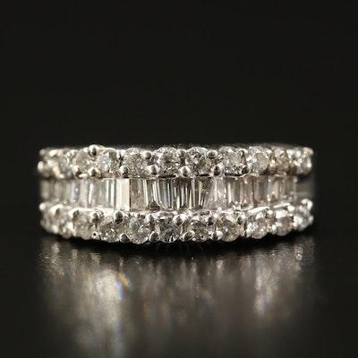 14K 1.04 CTW Diamond Band