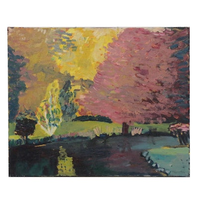 Jerald Mironov Landscape Oil Painting