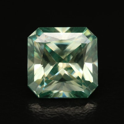 Loose Laboratory Grown Cut Cornered Square Faceted Moissanite