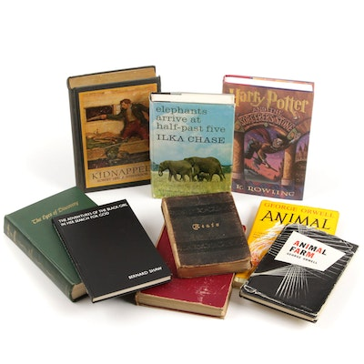 "First American Edition ""Animal Farm"", ""Harry Potter ... Sorcerer's Stone"", More"