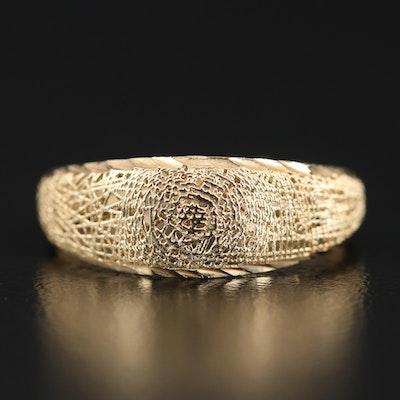 14K Openwork Ring