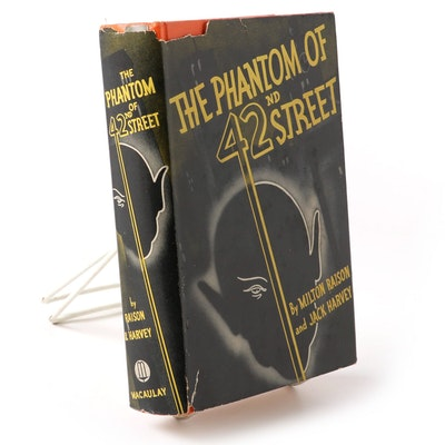 "Signed ""The Phantom of 42nd Street"" by Milton Raison and Jack Harvey, 1936"
