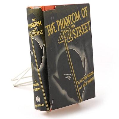 "Signed ""The Phantom of 42nd Street"" by Milton Raison and Jack Harvey, 1936"