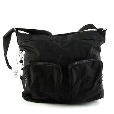 Kipling Black Nylon Eirine Crossbody Bag