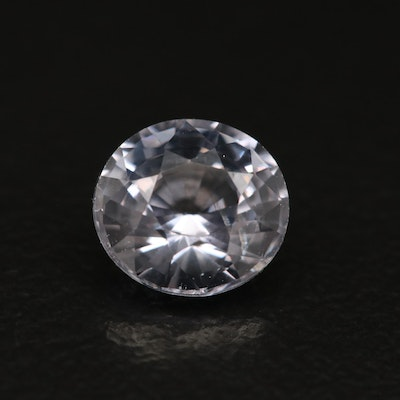 Loose 1.49 CT Oval Faceted Spinel