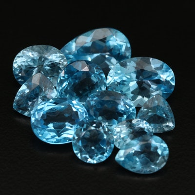 Loose 41.91 CTW Faceted Topaz