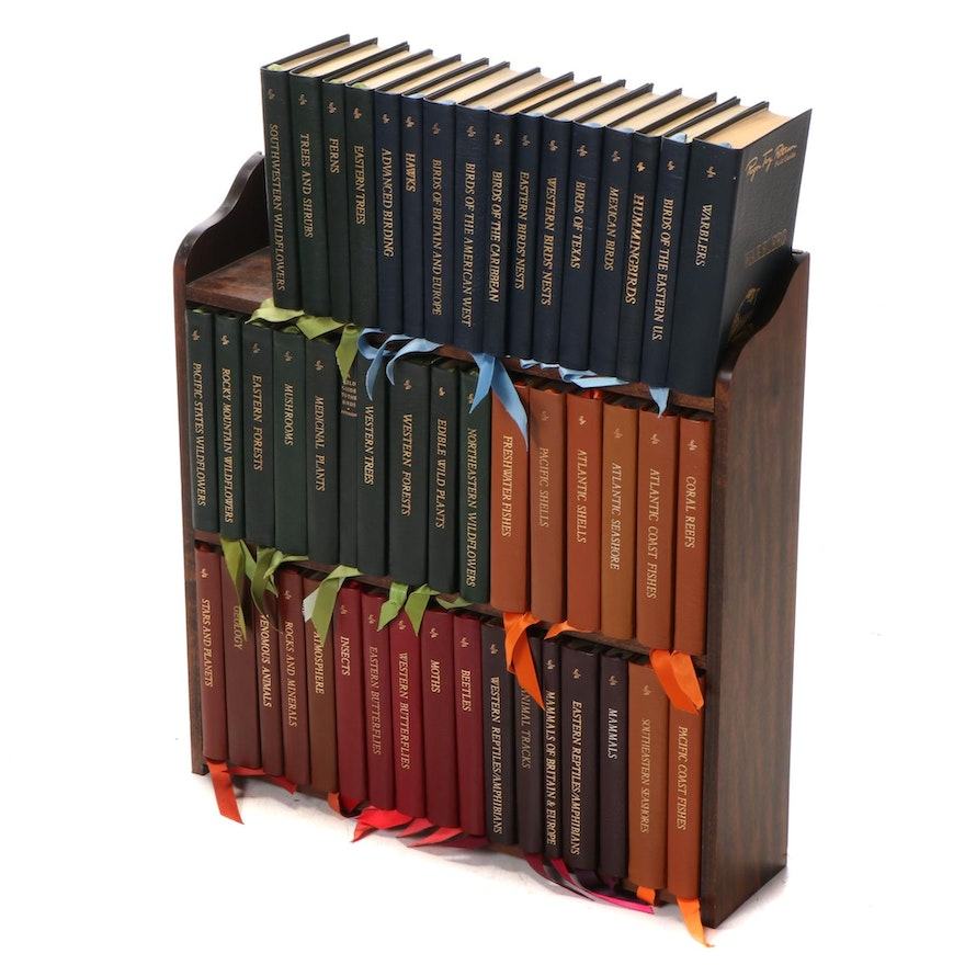"""Easton Press Fiftieth Anniversary Edition """"Roger Tory Peterson Field Guides"""""""