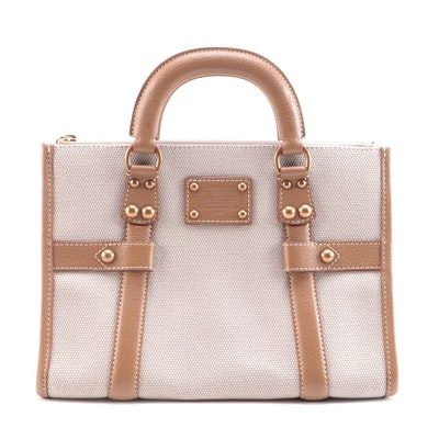 Louis Vuitton Toile Trianon Neverfull in Canvas and Leather