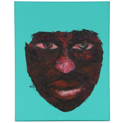 "Oluwakemi Omowaire Oil Painting ""Ego,"" 2020"